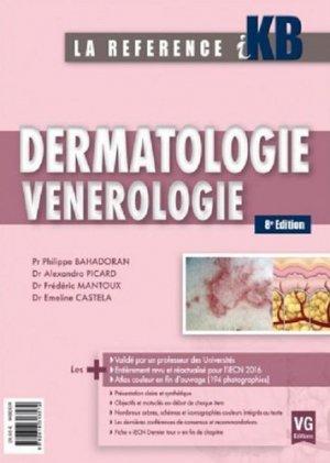 KB / iKB Dermatologie - Vénérologie - vernazobres grego - 9782818313572 -