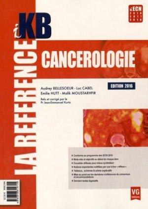 KB / iKB Cancérologie - vernazobres grego - 9782818314715 -