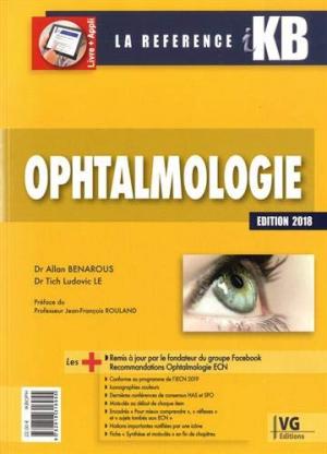 KB - ikb - Ophtalmologie - vernazobres grego - 9782818316955 -