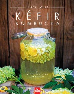 Kéfir Kombucha et autres boissons fermentées - La Plage - 9782842219161 -