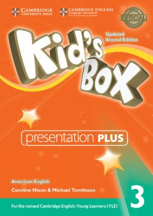 Kid's Box Level 3 - Presentation Plus DVD-ROM American English - cambridge - 9781316627105