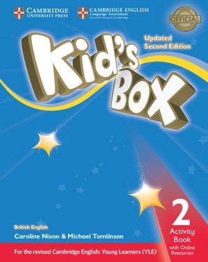 Kid's Box Level 2 - Activity Book with Online Resources British English - cambridge - 9781316628751