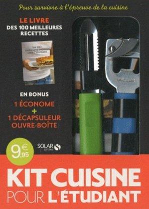 Kit cuisine de l'étudiant - solar - 9782263052644 -