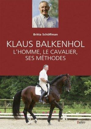 Klaus Balkhenhol - belin - 9782701183909 -