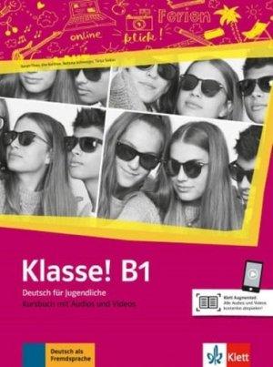 Klasse! B1 - Livre de l'élève + audios   videos - maison des langues - 9783126071420 -