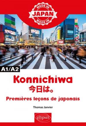 Konnichiwa A1/A2 - ellipses - 9782340032613 -