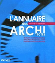 L'annuaire des architectes - architectures à vivre - 2223619593574 -