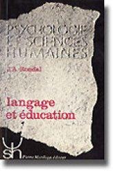 Langage et éducation - mardaga - 9782870090923 -