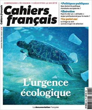 L'urgence écologique - la documentation francaise - 3303330404140 -