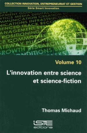 L'innovation entre science et science-fiction - iste - 9781784053192 -