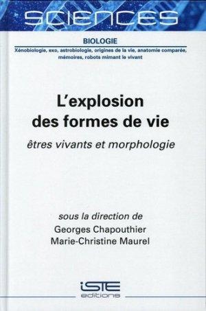 L'explosion des formes de vie - iste  - 9781789480054 -