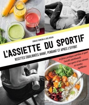 L'assiette du sportif - hachette - 9782011356246 -