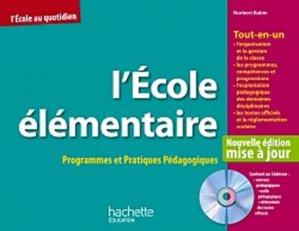 L'Ecole élémentaire - Hachette Education - 9782011713353 -