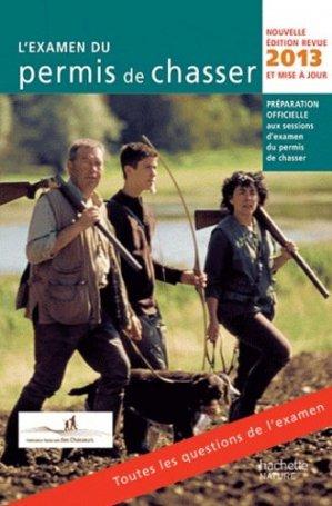 L'examen du permis de chasser - hachette - 9782012384583