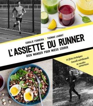 L'assiette du runner - hachette - 9782017084440