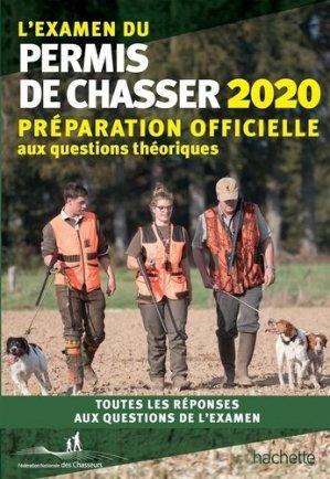L'examen du permis de chasser 2020 - hachette - 9782019451646 -