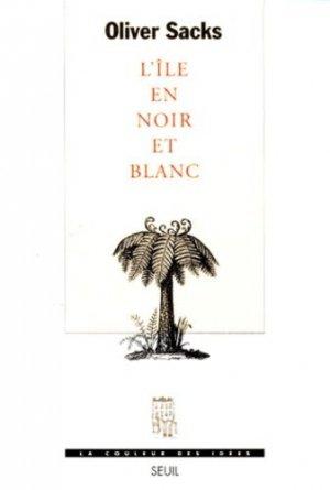 L'île en noir et blanc - du seuil - 9782020306294 -