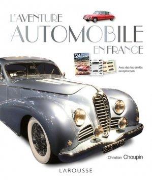 L'aventure automobile en France - larousse - 9782035923448 -