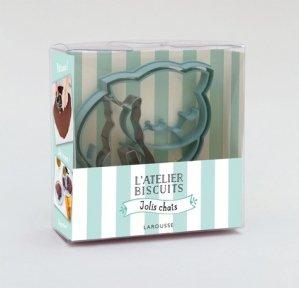 L'atelier à biscuits Jolis chats - Larousse - 9782035956033 -