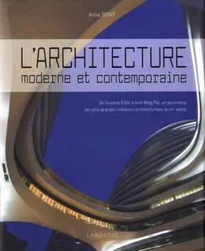 L'architecture moderne et contemporaine - larousse - 9782035963208 -