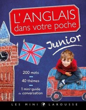 L'anglais dans votre poche, spécial junior - Larousse - 9782035977304 -