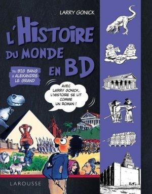 l'Histoire en BD - Du Big Bang à Alexandre le Grand - larousse - 9782035985286 -