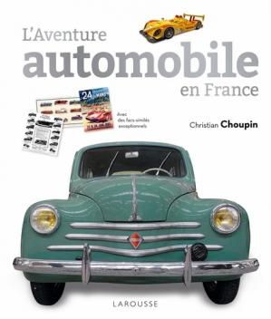 L'aventure automobile en France - larousse - 9782035993366 -