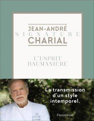 L'esprit Baumanière - flammarion - 9782081494701 -