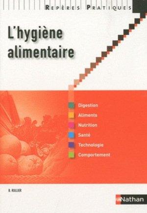 L'hygiène alimentaire - nathan - 9782091614427 -