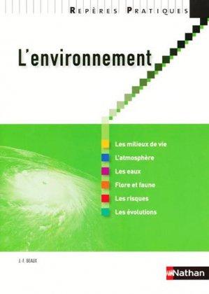 L'environnement - nathan - 9782091617251 -