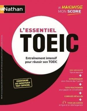 L'essentiel TOEIC (Livre) - Entraînement intensif pour réussir son TOEIC - 2020 - Nathan - 9782091671840 -