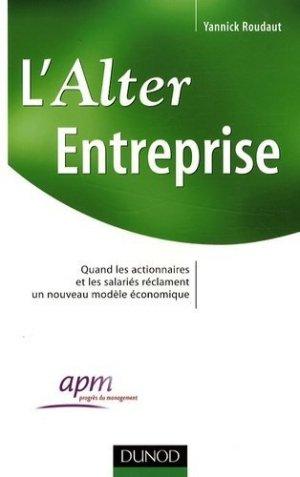 L'Alter Entreprise - Dunod - 9782100514076 -