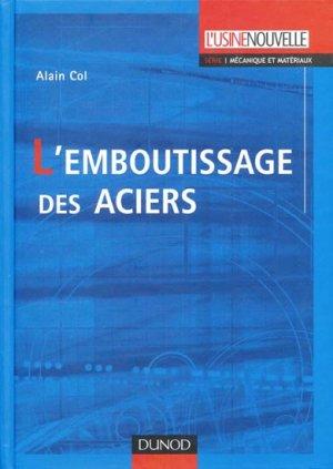 L'Emboutissage des aciers - dunod - 9782100520909 -