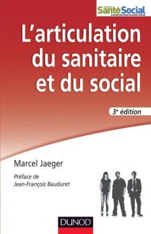 L'articulation du sanitaire et du social - dunod - 9782100576579
