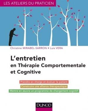 L'entretien en thérapie comportementale et cognitive - dunod - 9782100705900