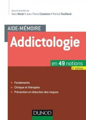 L'Aide-mémoire d'addictologie en 49 notions - dunod - 9782100721429 -