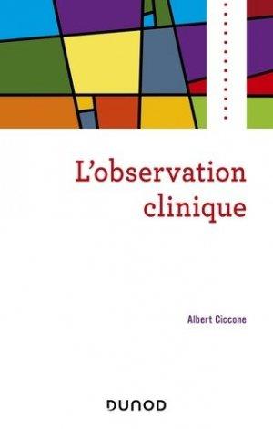 L'observation clinique - dunod - 9782100775460 -