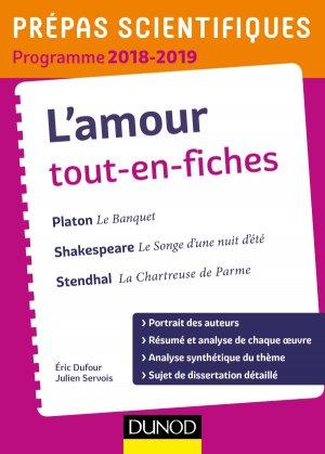 L'Amour Tout-en-Fiches - Prépas Scientifiques 2018-2019 - dunod - 9782100778805 -