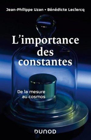 L'importance des constantes - dunod - 9782100795598 -
