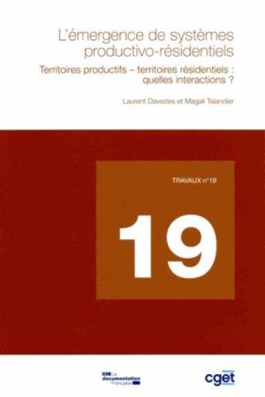 L'émergence de systèmes productivo-résidentiels - la documentation francaise - 9782110096838 -