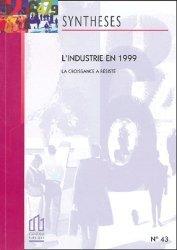 L'industrie en 1999 - INSEE - 9782110677891 -
