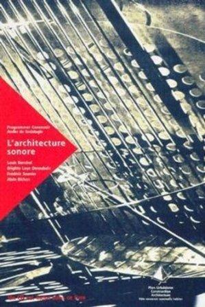 L'architecture sonore - certu - 9782110856326 -