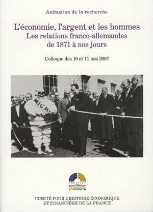 L'économie, l'argent et les hommes - La Documentation Française - 9782110975126 -