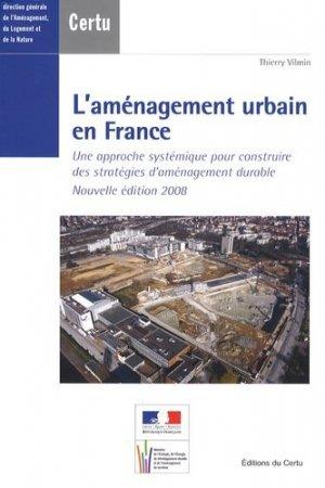L'aménagement urbain en France - certu - 9782110981851 -