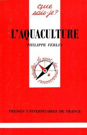 L'aquaculture - puf - presses universitaires de france - 9782130465836 -