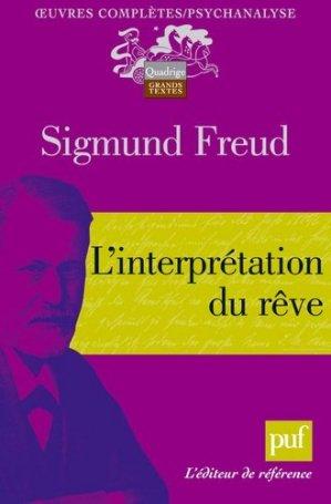 L'interprétation du rêve - puf - presses universitaires de france - 9782130536284 -