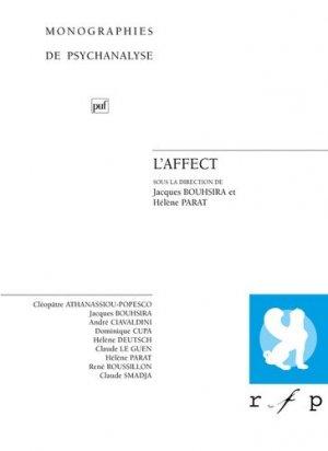 L'affect - puf - presses universitaires de france - 9782130548652 -