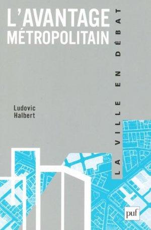 L'Avantage métropolitain - puf - presses universitaires de france - 9782130581499 -