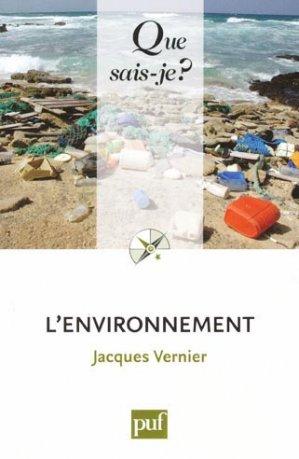 L'environnement - puf - presses universitaires de france - 9782130589280 -