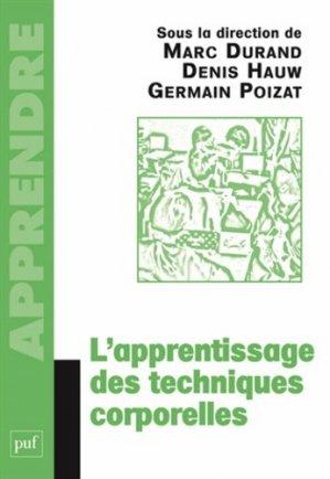 L'apprentissage des techniques corporelles - puf - presses universitaires de france - 9782130618942 -